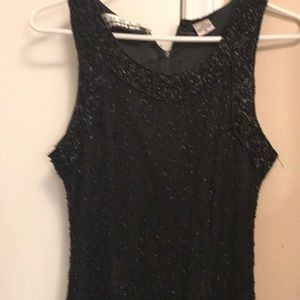 Beaded gown full length